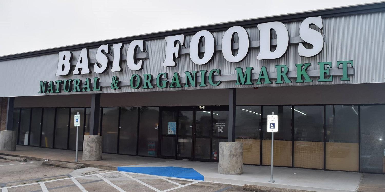 Basic Foods Storefront
